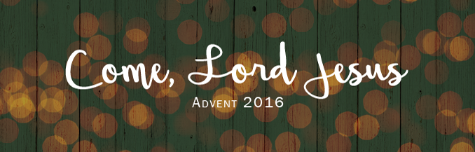 Advent 2016 Webpage Banner